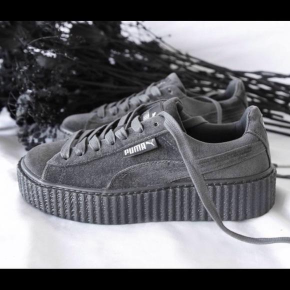 Puma x Fenty Rihanna Velvet Creeper Glacier Gray